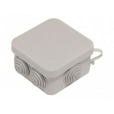 Коробка разветвительная 70х70х40, 6 вывода, IP55 | КР2605 | HEGEL