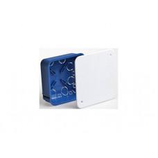 Коробка распределительная С/У 100х100х45 металлические лапки, с крышкой (для полых стен) | 10161 | Рувинил