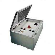 Коробка расп.гермет.пласт.винт IP55 100х100х50мм ШхВхГ   1SL0846A00   ABB