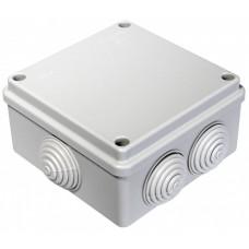 Коробка расп. для о/п 100*100*50 6 вводов IP55 40-0300   40-0300   Промрукав