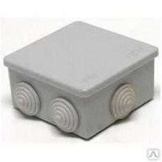 Коробка расп. о/п 100*100*50 п/герм.