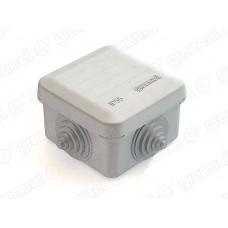 Коробка расп. для о/п 70х70х40 4 ввода IP55 | GE41236 | GREENEL