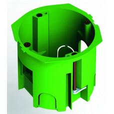 Коробка установочная 68х60 металлические лапки, с саморезами (для полых стен)   КУ1205   HEGEL