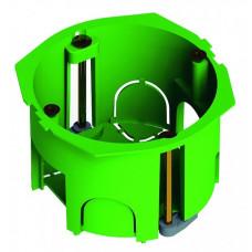 Коробка установочная 68х45 пластиковые лапки, с саморезами (для полых стен)   КУ1201   HEGEL