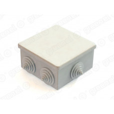 Коробка расп. для о/п 85х85х40 6 вводов IP 44 | GE41235 | GREENEL