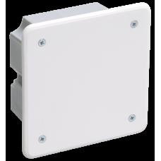 Коробка распределительная С/У 92x92x45 КМ41001 с саморезами, с крышкой   UKT11-092-092-040   IEK