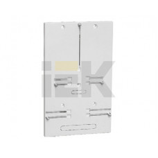 Панель для установки счетчика ПУ2/0 универсальная (1ф. и 3ф.) 333х201х33 | MPP11-2 | IEK
