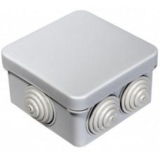 Коробка расп. для о/п 70*70*40 IP55 6 вводов 40-0200   40-0200   Промрукав