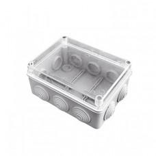 Коробка распаячная КМР-050-041пк пылевлагозащищенная,10 мембранных вводов, уплотнительный шнур, прозрачная крышкой (150х110х70) EKF PROxima   plc-kmr