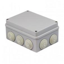 Коробка распаячная КМР-050-042 пылевлагозащитная, 10 мембранных вводов, уплотнительный шнур (190х140х70) EKF PROxima   plc-kmr-050-042   EKF