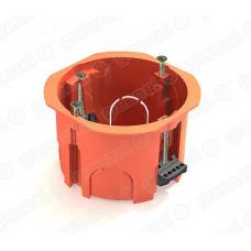Коробка установочная 65х45 пластиковые лапки (для полых стен)   GE40022   GREENEL
