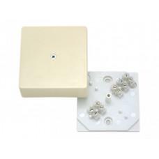 Коробка разветвительная 75х75х30 с клеммником IP40 | КРК2702 02 | HEGEL
