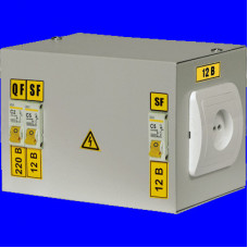 Ящик с понижающим трансформатором ЯТП-0.25 220/36-3 36 УХЛ4 IP30 | MTT13-036-0250 | IEK