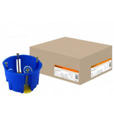Коробка установочная 68х45 с саморезами, пластиковыми лапками (для полых стен)   SQ1403-0001   TDM