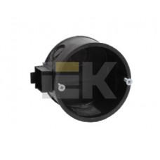 Коробка распределительная С/У 92х92x45 КМ41022 с саморезами, пластиковые лапки, с крышкой (для полых стен) | UKG11-092-092-045-P | IEK