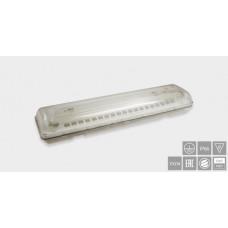 Указатель аварийный светодиодный MIRAGE BS-9663-2x10 T8 LED 36Вт 3ч комбинированный накладной IP66   a7279   Белый свет