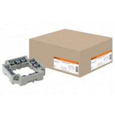 Клеммник для распаячных и установочных коробок с шагом 60мм, IP20, | SQ1402-0117 | TDM