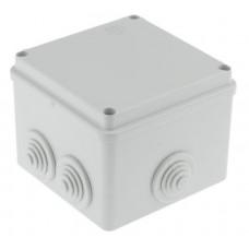 Коробка распаячная герметичная с вводами IP55 100х100х80мм ШхВхГ   00821   ABB