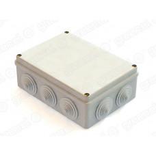 Коробка расп. для о/п 190х140х70 10 гермовводов IP55 | GE41244 | GREENEL