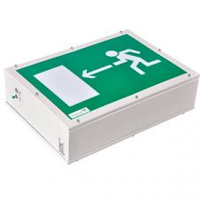 Указатель аварийный светодиодный FLAGMAN BS-8301/3-8x1 INEXI LED 2,6Вт 1/3ч непостоянный накладной IP66 | a9547 | Белый свет