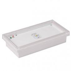 Указатель аварийный светодиодный BS-VOLNA-83-L2-INEXI2 2,6Вт 3ч IP44 непостоянный накладной встраиваемый |a15849 |Белый свет
