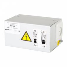 Ящик с понижающим трансформатором ЯТП-0,25-220/42-2-IP31-УХЛ3   228242   КЭАЗ