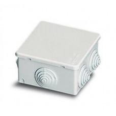 Коробка распаячная герметичная IP44 80х80х40мм ШхВхГ   00810   ABB