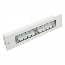 Указатель аварийный светодиодный GORIZONT BS-8731/3-8x1 INEXI LED 2,6Вт 1/3ч непостоянный встраиваемый IP20 | a9691 | Белый свет