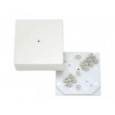Коробка разветвительная с клеммником, белая | КРК2702-И | HEGEL