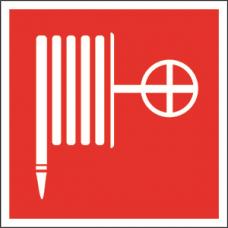 Пиктограмма (Наклейка) Пожарный кран 250х250 для ESTETIKA/SPUTNIK | NPU-2424.F02 | Белый Свет