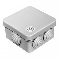 Коробка уравнивания потенциалов 40-0200-У для открытой установки 70х70х40 (132шт/кор) | 40-0200-у | Промрукав