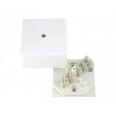 Коробка разветвительная 60х60х30 с клеммником IP40 | КРК2701 | HEGEL