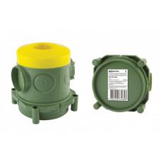 Установочная коробка СП 82х80х91,5мм, для заливки в бетон, инд. штрихкод | SQ1402-9404 | TDM