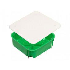 Коробка распределительная С/У 106х106х45 металлические лапки (для полых стен) | КР1201 | HEGEL