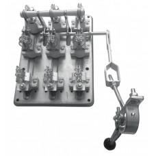 Разъединитель РПС-4 400А правый привод без ППН EKF PROxima   rps-400   EKF