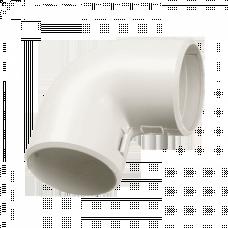 Угол 90 соединительный для трубы (20мм.) Plast EKF PROxima | ug-t-20 | EKF