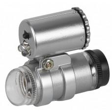 Фонарь брелок 2хLED M45 с микроскопом | Б0003589 | ЭРА