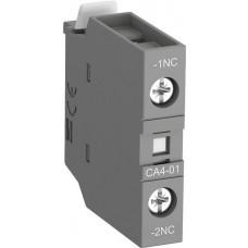 Контакт CA4-01 1НЗ фронтальный для контакторов AF09-AF38 и NF   1SBN010110R1001   ABB