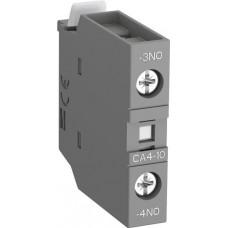 Контакт CA4-10 1НО фронтальный для контакторов AF09-AF38 и NF   1SBN010110R1010   ABB