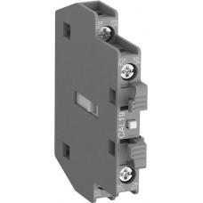 Контактный блок CAL19-11 боковой 1HO1НЗ для контакторов АF116 - АF370 | 1SFN010820R1011 | ABB