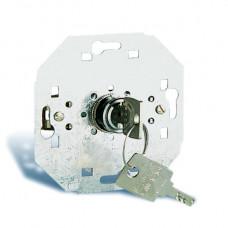 Simon 75 Механизм Выключатель системы управления на 4 положения (поворотный) с ключом (не вынимается в позиции 3 и 4),   75522-39   Simon