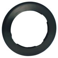 Simon 88 Рамка декоративная, 1 пост, круг в круге, S88, графит | 88610-38 | Simon