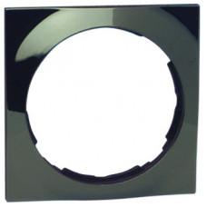Simon 88 Рамка декоративная, 2 поста, круг в квадрате, S88, воронёная сталь | 88622-35 | Simon