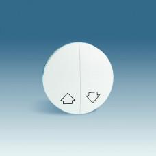 Simon 88 Клавиша (2 шт) для переключателя двухклавишного кнопочного для управления жалюзи с пикторгаммой
