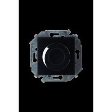 Simon 15 Чёрный Светорегулятор поворотно-нажимной, 500Вт, 230В, винт. зажим | 1591311-032 | Simon