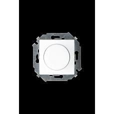 Simon 15 Белый Светорегулятор поворотно-нажимной, 500Вт, 230В, винт. зажим | 1591311-030 | Simon