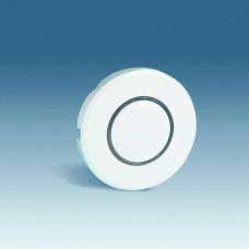 Simon 88 Накладка на светорегулятор нажимной с голубой подсветкой, S88, белый | 88034-30 | Simon
