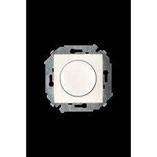 Simon 15 Сл. кость Светорегулятор поворотно-нажимной, 500Вт, 230В, винт. зажим | 1591311-031 | Simon