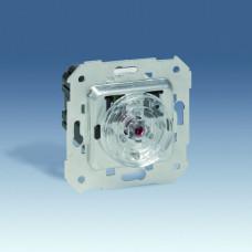 Simon 75 Механизм Выключатель нажимной релейный с голубой подсветкой, основной, проходной, 2000Вт 230В, S82, S82N, S88   75322-69   Simon