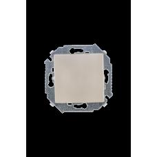 Simon 15 Шампань Выключатель 1-кл проходной с 3-х мест (перекрёстный), 16А 250В, винт. зажим | 1591251-034 | Simon